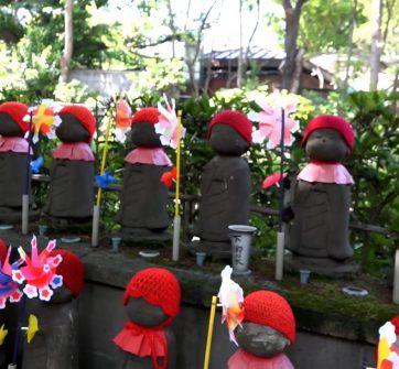 Chùa Sojo – 1000 pho tượng địa tạng